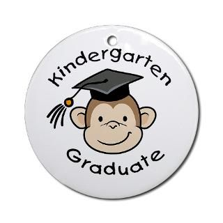 Monkey Kindergarten Graduate  Big Brother / Sister and new baby gifts