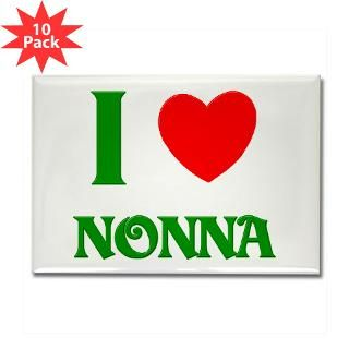 Love Nonna Rectangle Magnet (10 pack)
