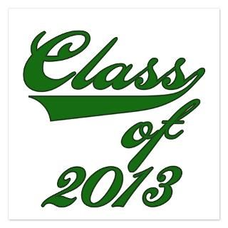 Of 2013 Invitations  High School College Graduation Class Of 2013
