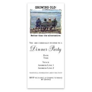 Senior Citizen Funny Invitations by Admin_CP8964828