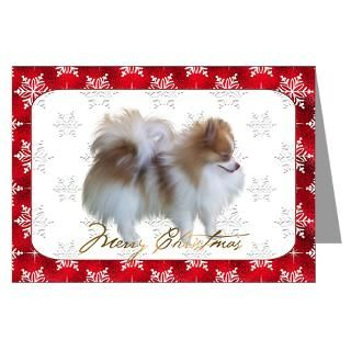 Pomeranian Christmas Greeting Cards  Buy Pomeranian Christmas Cards