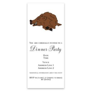 Wild Boar Hunting   Invitations by Admin_CP3084481  507065404