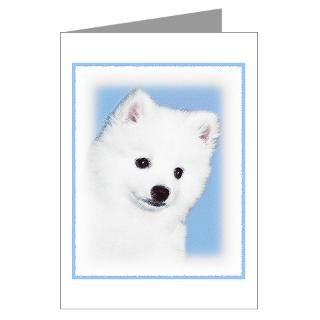 American Eskimo Greeting Cards  Buy American Eskimo Cards