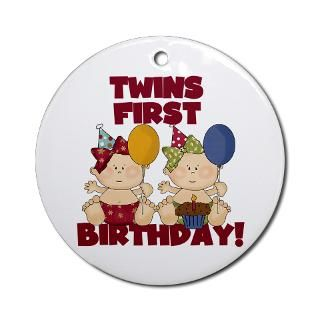 Twin Girls 1St Birthday Gifts & Merchandise  Twin Girls 1St Birthday