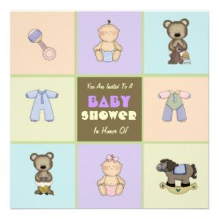 Little Necessities Baby Shower Invitation