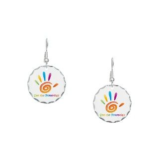 Advocate Gifts  Advocate Jewelry  Autism Awareness Earring Circle