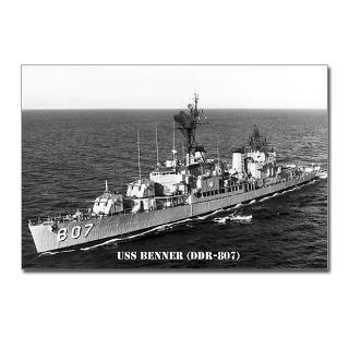 807 Dd Navy Benner Uss Gifts & Merchandise  807 Dd Navy Benner Uss
