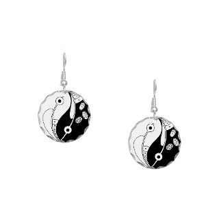 Gifts  Jewelry  Earring Circle Charm