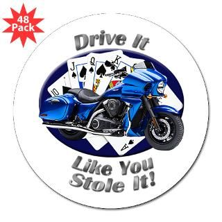 Vulcan Motorcycle Stickers  Car Bumper Stickers, Decals