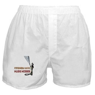 911 Gifts > 911 Underwear & Panties > Funny Firefighter Boxer Shorts