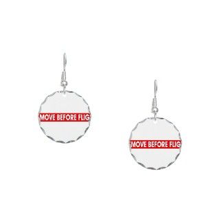 Air Force Gifts  Air Force Jewelry  Remove Before Flight Earring