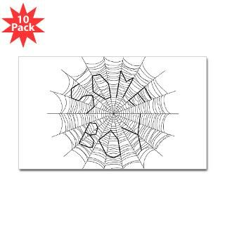 Spider Web Stickers  Car Bumper Stickers, Decals