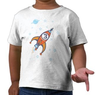Birthday Shirt   Rocket Shirt