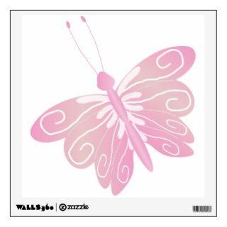Blue Butterfly Wall Sticker