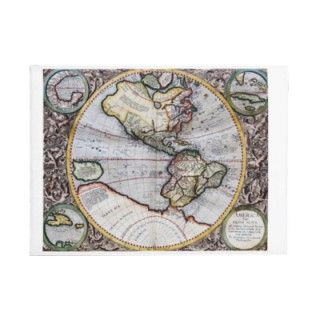 Vintage Atlas World Map Envelopes