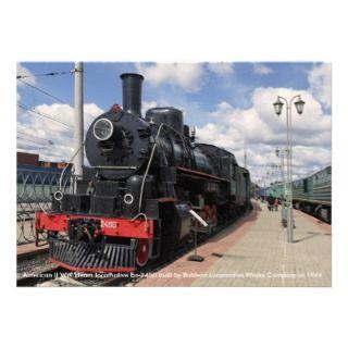 Locomotive, American II WW steam locomotive Ea Invites