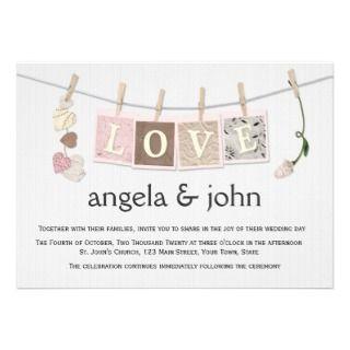 Love Letters Personalized Invite