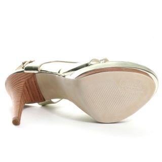 Innocent 2 Heel   Gold, Guess Footwear, $89.99,