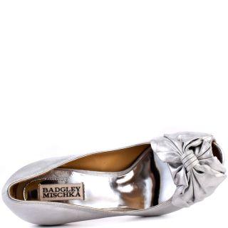 Badgley Mischkas Silver Wilda   Silver Metallic for 244.99