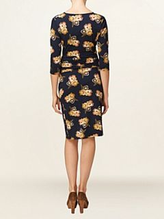 Phase Eight Holly floral print dress Navy