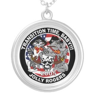 VF 103 VFA 103 Jolly Rogers Patch Necklace