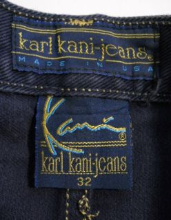 Vintage 90s Karl Kani Pleated Front Hip Hop Casual Urban Wear Shorts