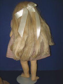 Artist C Nelson Messick Cloth Rag Doll 1983