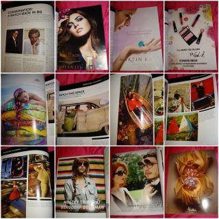 BERGDORF GOODMAN fashion catalog 2010 Gleb DERUJINSKY Karlie KLOSS