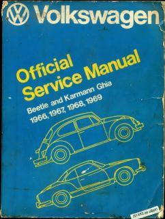 1966 1967 1968 1969 Volkswagen Beetle Karmann Ghia VW Bentley Service