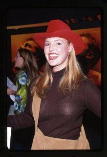 2000 Kathryn Heigl Transparent Shirt Actress 35mm Color Slide