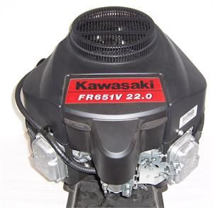 Kawasaki Vertical 22 HP V Twin OHV Engine 1 x 3 5/32 #FR651 S51