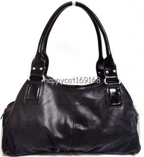 Kathy Van Zeeland Spotlight III Swagger Satchel Handbag Black KVZ 4470