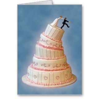 Gotcha! Wedding Invitation Greeting Cards