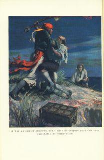 Boys Book Spanish Dollars by Reginald w Kauffman HC 1925