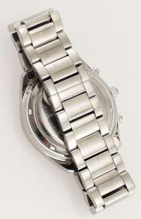 Techno com by KC Stainless Steel Diamond Wrist Watch