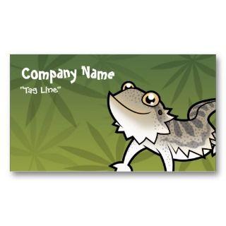 Bearded Dragon / Rankin Dragon Business Card Template