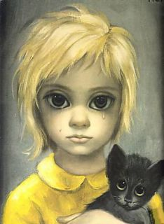 Hasbro Little Miss No Name 1965 Big Eyes Sad Tear Keane