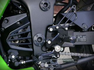 Kawasaki Ninja 250R 08 10 Sato Racing Rearset Rear Sets