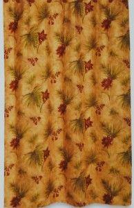 New Kathy Ireland Fabric Shower Curtain Palm Paradise Liner Flower