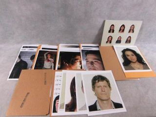 Law Order Screen Used Case Files and Photo Prop Set Episode 1006