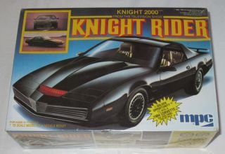 Vintage SEALED MPC Knight 2000 Knight Rider Kitt Model Car