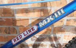1980s Redline MX III BMX Bike Old School BMX Red Line II Pads 1982