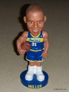 Reggie Miller Bobblehead Indiana Pacers NBA Basketball SGA W/ Original