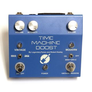 Keeley Pedals Time Machine Boost guitar effects pedal