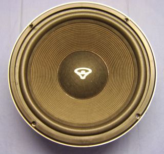 Cerwin Vega Refurbished 12 High Fidelity Woofer from CV at 12 8ohm