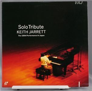 Laser Disc Solo Tribute Keith Jarrett 100th Japan Show
