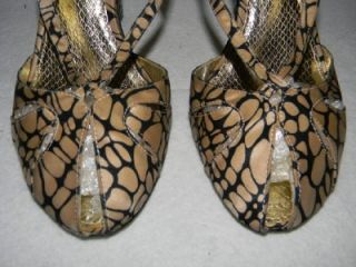 Sam Edelman Satin Fabric Kelis Peep Toe Pumps Sandals Shoes Heels 9 M