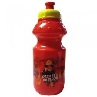 Fireman Sam Red Plastic Sports Bottle