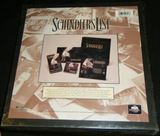 Schindlers List Limited Edition Collectors Boxed Set SEALED