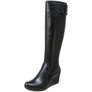 Kenneth Cole Reaction Women Shoes Worth Your While Boot Black Knee